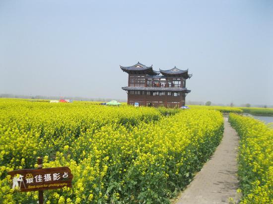 Xinghua, Kina: 展望台への道