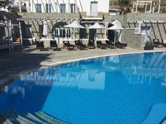 Hippie Chic Hotel: area piscina