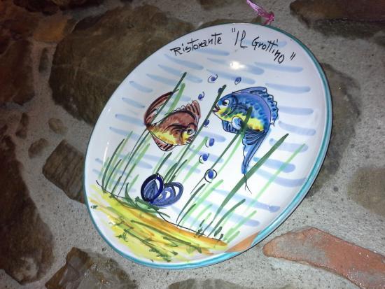 Il Grottino Ristorante: ceramica personalizzata