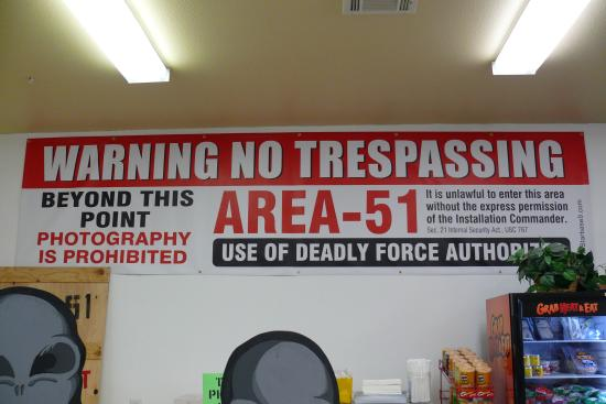 Clear Instructions Picture Of Area 51 Alien Travel Center
