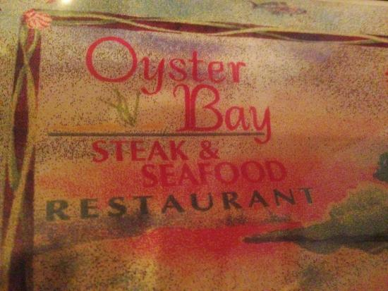 Oyster Bay Restaurant & Bar: Sign - Nice