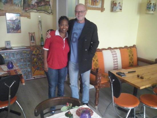 Axum: Myself with Belaynesh