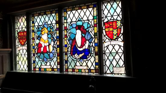Coventry, UK: Glass from the past