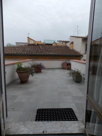 Hotel Ritz : Balcón