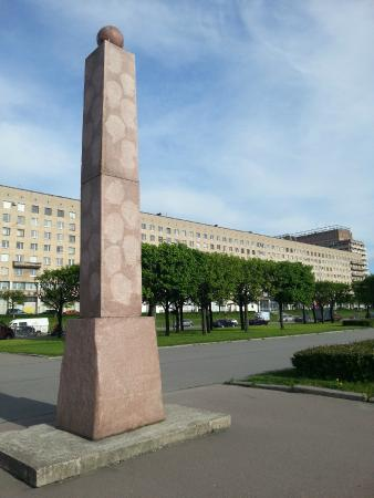 Monument to Celebrities of St. Petersburg