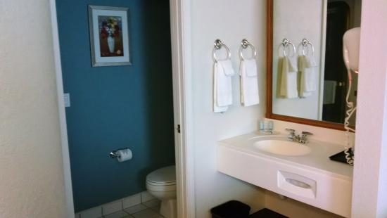 Sleep Inn & Suites: Bath room