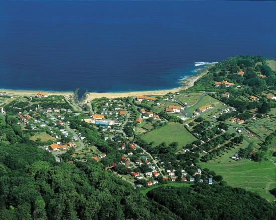 Camping International Erromardie: vue aerienne