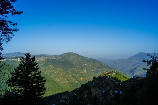 Banjara Camps - Thanedar: view from balcony