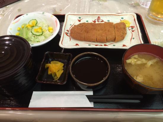 Ozora Shokudo : 黒豚ロースカツ定食