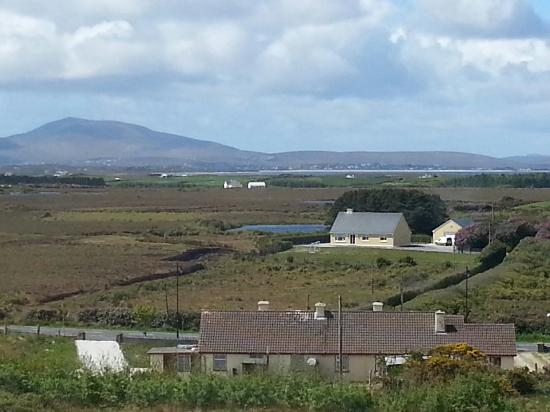 Ballycroy National Park: The view from the cafe in the Visitors Centre.   The perfect place for lunch.