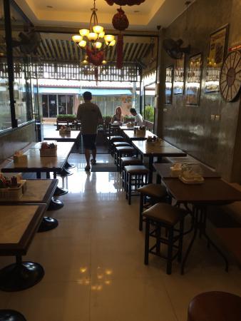 i-Kroon Cafe & Hotel: entree restaurant