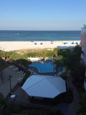 Beach House Suites by Loews Don CeSar : Right from our balcony!