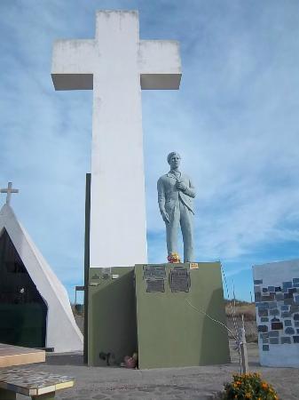 Balneario El Condor, Argentina: Monumento a Ceferino Namuncurá