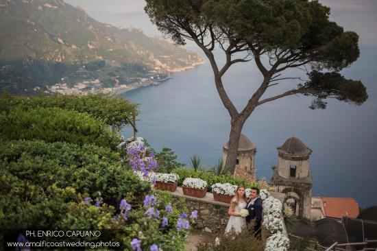 Wagner Day Tours: wedding in Ravello photographer Enrico Capuano wedding Planner Mario Capuano