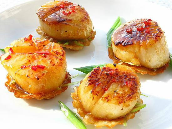 Bel Vedere Italian Restaurant: Scallops