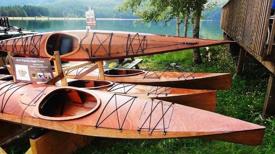 Nanoose Bay, Canada: Canadian Made Wooden Fleet!