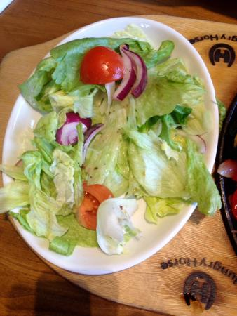 The Crown Hungry Horse: What Hungry Horse call a Big Salad!