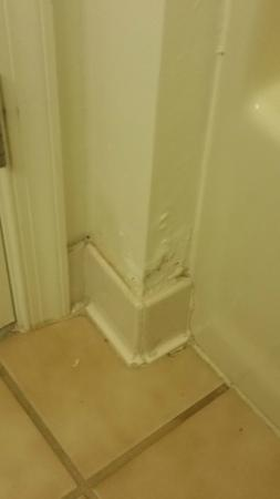 Hawthorn Suites by Wyndham Allentown-Fogelsville : Mold on bathroom wall?