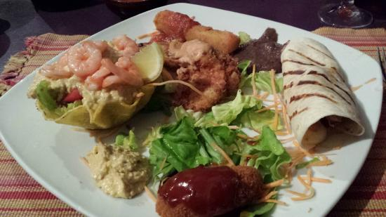 Cafe Baquito : antipasto messicano
