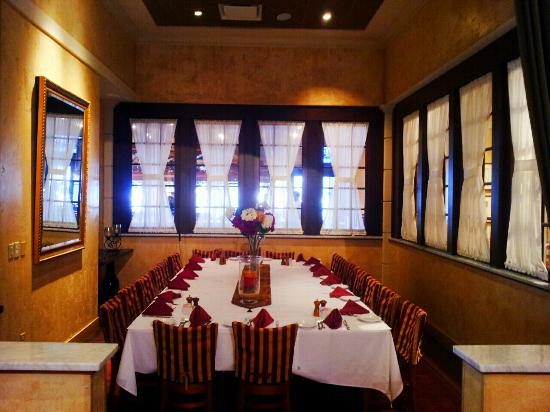 Dine al fresco picture of brio tuscan grille boca raton for Private dining room 90277