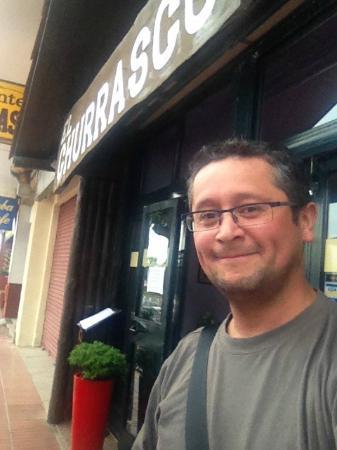 Restaurante El Churrasco: Un saludo