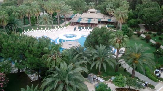 Hotel Ozkaymak Incekum: вид из нашего окна