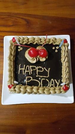 Jambuluwuk Puncak Resort Thank You For Sending Us This Birthday Cake Surprise At 00