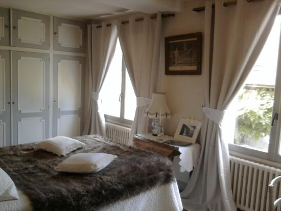 Chambres la Vallée : Notre chambre