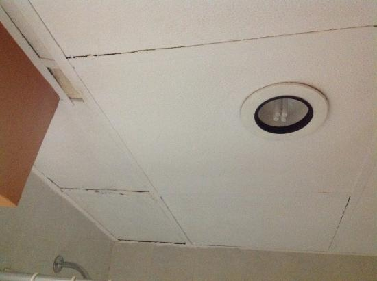 Leaking Ceiling In Bathroom Over Toilet Yikes Picture Of Catalonia Riviera Maya Puerto