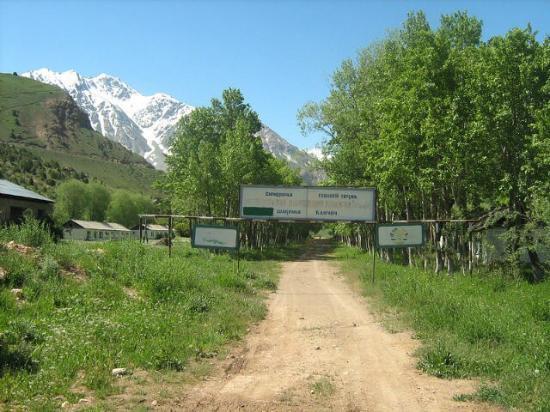 Зеравшанская долина, Таджикистан: Dilovar