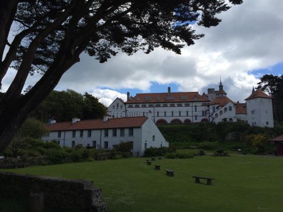 Caldey Island, UK: Monastery