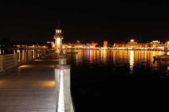 the view at night picture of disney s yacht club resort orlando rh tripadvisor com