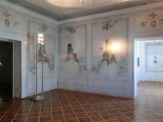 Gorizia, İtalya: affreschi interni