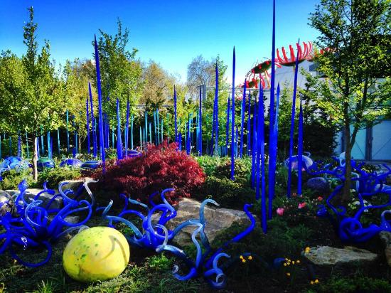 Glass Garden Picture Of Chihuly Garden And Glass Seattle Tripadvisor