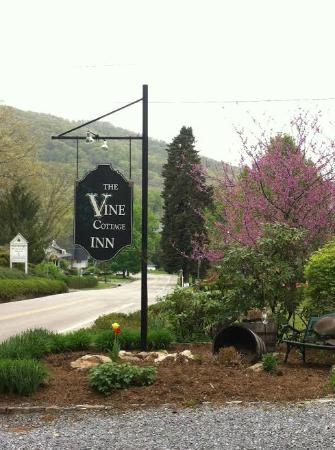 Vine Cottage Inn: Entrance