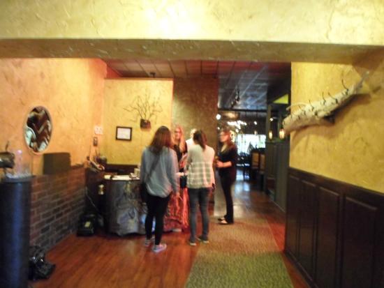 Kaldera Restaurant: enterance