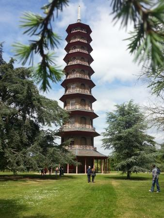 Queen Charlotte's Cottage: The pagoda