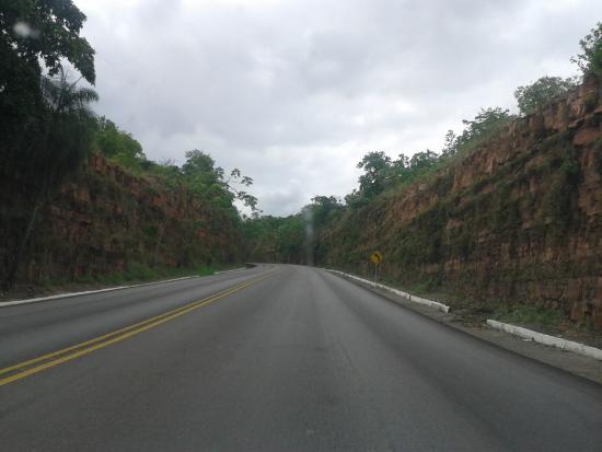 Cáceres, MT: Vista da Serra