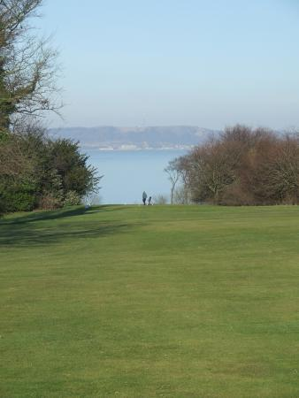 Silverknowes Golf Course: Looking back to the 13th tee (407 yds).