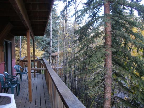 Ponderosa Lodge: Our balcony