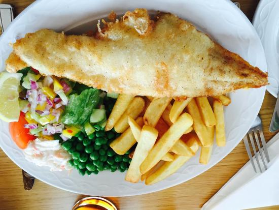 The Fishmarket Restaurant: Haddock and chips and Childs macaroni cheese