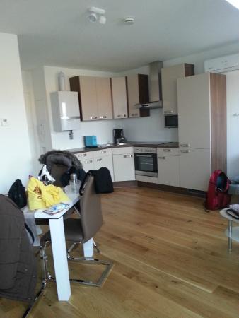 cucina-soggiorno - Picture of Christiano Apartments, Vienna ...