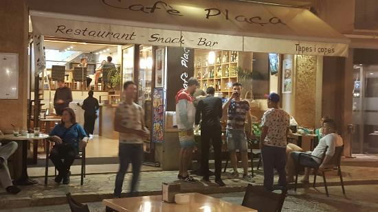 Plaça Restaurant: Excelente calidad precio