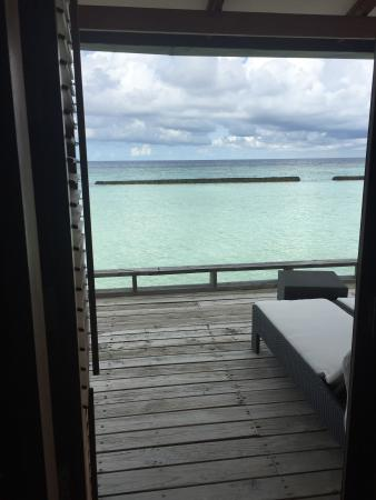 Kuramathi: View from our room
