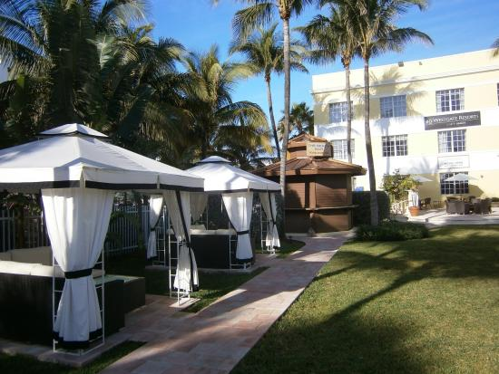Westgate South Beach Oceanfront Resort Cabanas