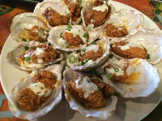 Delicious bbq oysters picture of red fish grill new for Red fish grill