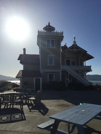 Bilde fra East Brother Light Station