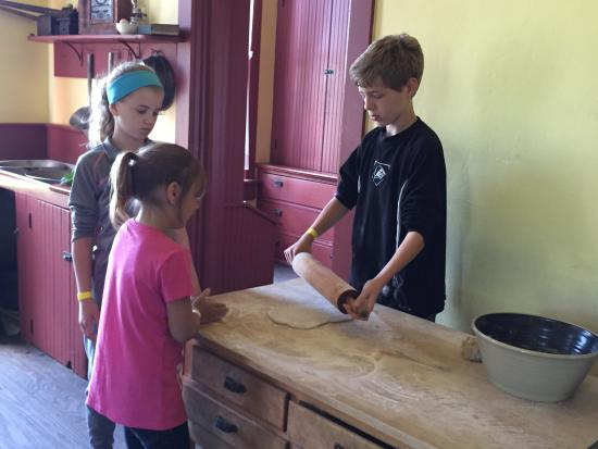 Oliver Kelley Farm: The children loved to cook!