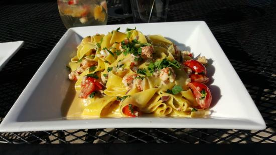 Cotto A Legna: Lobster Papardelle