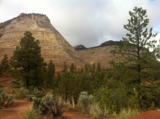 Attraction review reviews checkerboard mesa zion national park utah